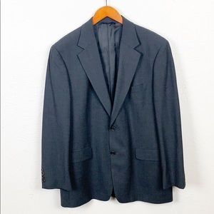 Brooks Brothers 346 Charcoal Gray 2 Button Blazer